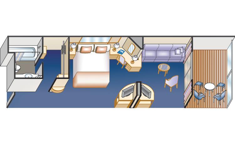 Мини- люкс с балконом