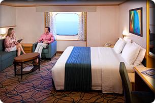 """Каюта с окном """"Large Ocean View Stateroom"""""""