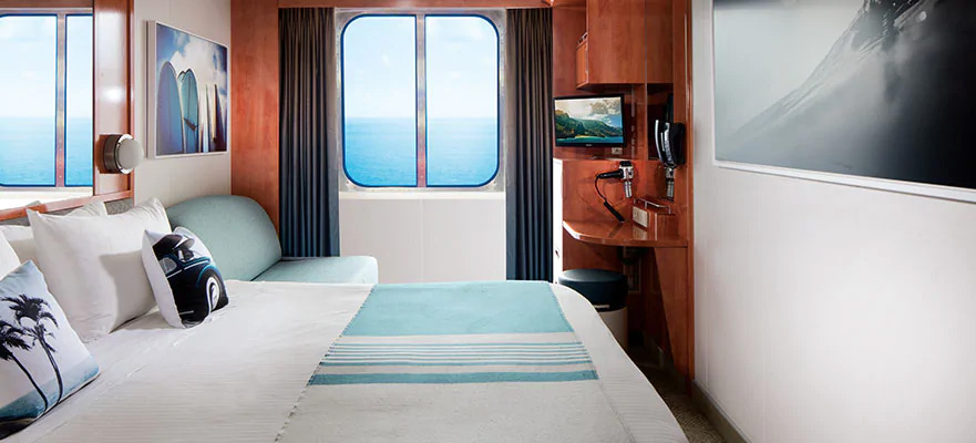 "Каюта с окном ""Oceanview Picture Window Stateroom"""