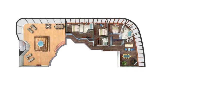 """Сьют """"3-Bedroom Garden Villa"""""""