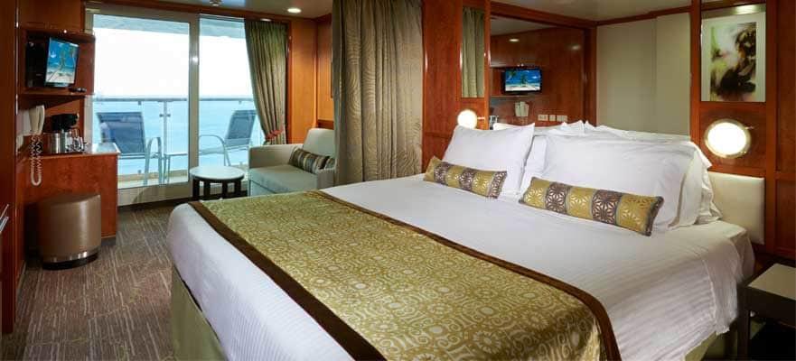 "Мини-сьют ""Mid-Ship Mini-Suite with Balcony"""