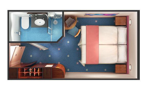 "Внутренняя каюта ""Mid-Ship Inside Stateroom"""