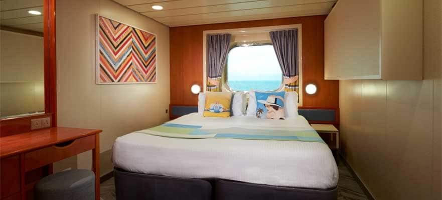 """Каюта с окном """"Mid-Ship Oceanview Picture Window Stateroom"""""""