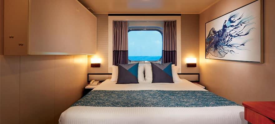 """Каюта с окном """"Oceanview Picture Window Stateroom"""""""