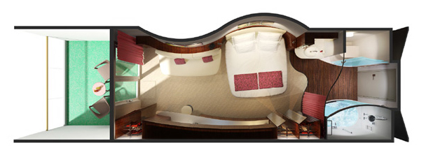 "Мини-сьют ""Family Mini-Suite with Balcony"""