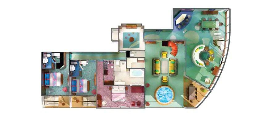 """Сьют """"The Haven 3-Bedroom Garden Villa"""""""