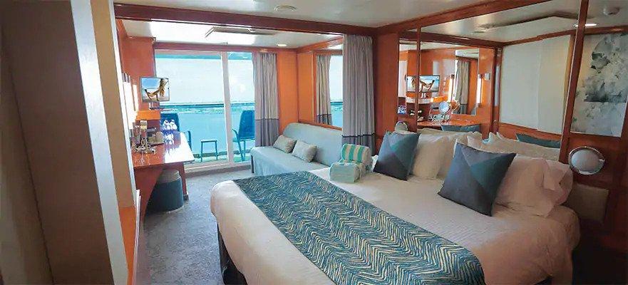 "Мини-Мини-сьют ""Mid-Ship Mini-Suite with Balcony"""