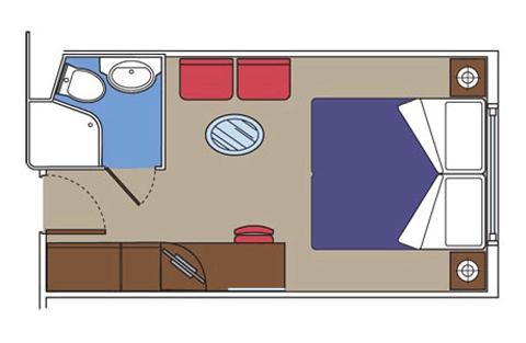 "Каюта с окном ""Wellness Ocean View"""