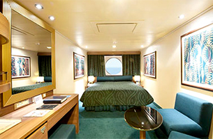 "Каюта с окном ""Wellness Ocean View Stateroom"""