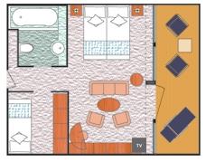 """Сьют """"Mini-Suite with Balcony"""""""