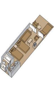 "Делюкс сьют с балконом/""Deluxe verandah suite"""