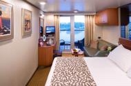 """Каюта с балконом/""""Deluxe verandah ocean-view"""""""