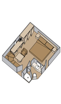 "Внутренняя каюта/""Interior spa stateroom"""