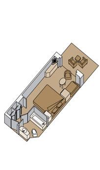 """Делюкс cьют с балконом/""""Deluxe verandah suite"""""""
