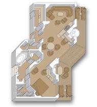 """Пентхаус сьют c балконом """"Penthouse verandah suite"""""""