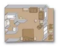 "Делюкс сьют с балконом ""Deluxe verandah suite"""