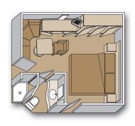 """Внутренняя каюта """"Interior stateroom"""""""