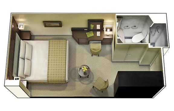 "Внутренняя каюта ""Inside Stateroom"""