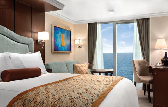 """Каюта с окном """"Deluxe Ocean View Stateroom"""""""