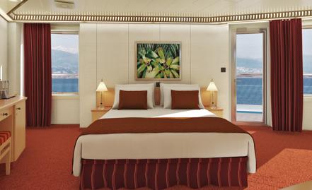"""Каюта с балконом """"Premium Vista Balcony"""""""
