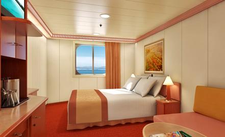 """Каюта с окном """"Scenic Ocean View"""""""
