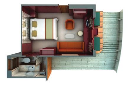"""Сьют """"Terrace Suite"""""""