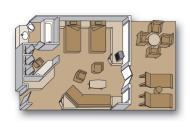 "Делюкс сьют с балконом""Deluxe verandah suites"""