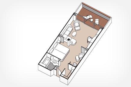 "Сьют ""Penthouse Suite"""