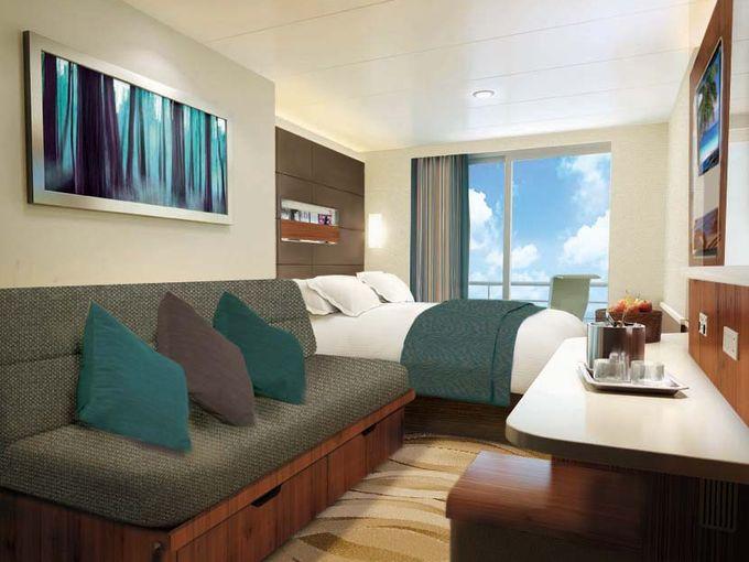 """Каюта с балконом """"Mid-Ship Balcony Stateroom"""""""