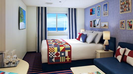 """Каюта с окном """"Family Harbor Ocean View"""""""