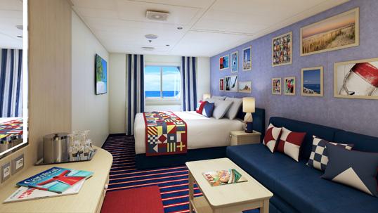 """Каюта с окном """"Family Harbor Deluxe Ocean View"""""""