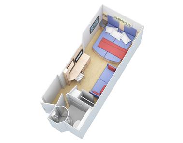 "Внутренняя каюта ""Large Interior Stateroom"""