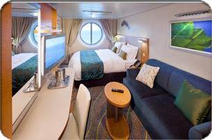 """Каюта с окном """"Studio Ocean View Stateroom"""""""