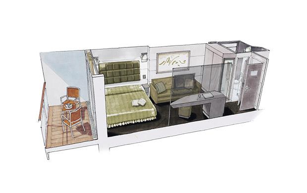 Balcony (Каюты с балконом)