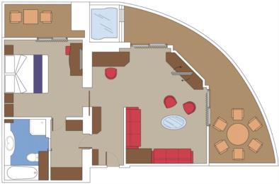 MSC Yacht Club Deluxe Suite