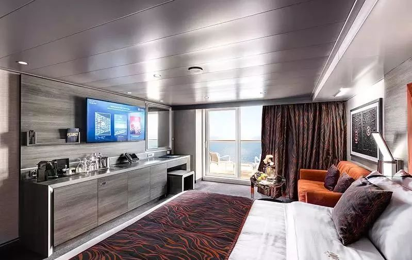 "Сьют ""MSC Yacht Club Deluxe Suite"""