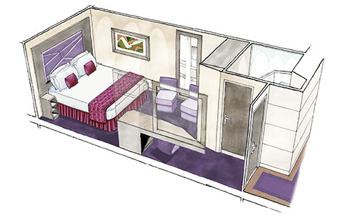 Interior (Внутренние каюты)
