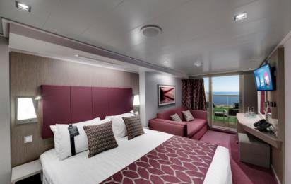 """Каюта Внутренняя """"Yacht Club Inside Suite"""""""