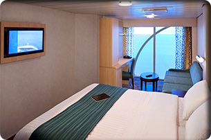 "Каюта с окном ""Panoramic Ocean View Stateroom"""