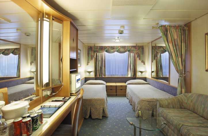 "Каюта с окном ""Large Ocean View Stateroom"""
