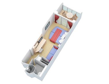 """Каюта с балконом """"Superior Ocean View Stateroom with Balcony"""""""