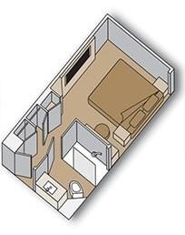 Внутренняя Inside Standart Stateroom