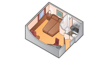 """Каюта с окном """"Premium Stateroom"""""""