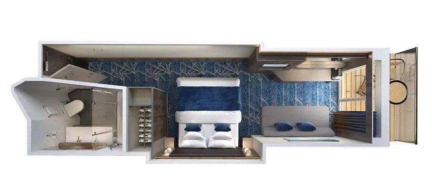 """Мини-сьют """"Spa Mini-Suite with Balcony"""""""